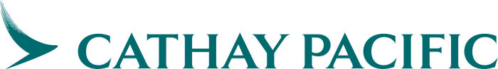 Cathay Pacific Logo Logotype Emblem 700X98