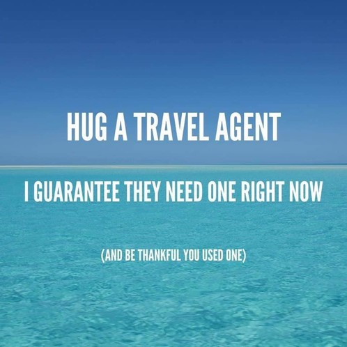 Hug A Travel Agent